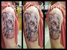 Lion Tattoo Lion Tattoo, Portrait, Tattoos, Simple Lion Tattoo, Tatuajes, Headshot Photography, Tattoo, Portrait Paintings, Drawings