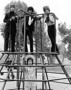 The Who, Los Angeles, California. February 27, 1968, Griffith Park