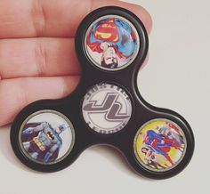 Superhero Fidget Spinner  Custom Fidget Spinner