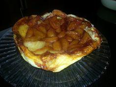 Jamie Oliver's world-famous tarte tatin! Jamie Oliver, Waffles, Pie, Breakfast, Desserts, Food, Tarte Tatin, Torte, Morning Coffee