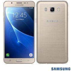Smartphone Samsung Galaxy J5 Metal Dourado modelo SM-J510MZDUZTO