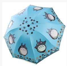 Protect yourself with rain or harmful heat of the sun! - This is perfect for any My Neighbor Totoro Fans - While Supplies Last! Limit 10 Per Order Please allow 4-6 weeks for shipping Item Type: Umbrel