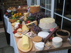 Now that's a CHEESE Table | Tatty Devine's Harriet's Wedding Day Cheese!