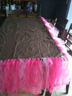 Fearlessly Creative Mammas: Tutu cute crib skirt