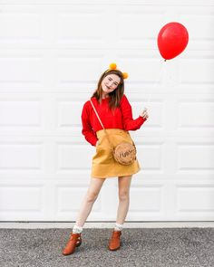 Winnie the Pooh Disneybound, costume, Disney Style Chelsea Watson (@styledbymagic) • Instagram photos and videos