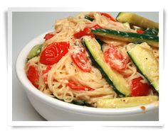 OMG this is so delicious. Healthy Pasta Recipe with Low-Cal Cream Sauce