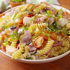 Pasta salad recipes cold, picnic salad recipes, vegetarian pasta salad, v. Vegetarian Pasta Salad, Pasta Salad Italian, Pasta Recipes, Dinner Recipes, Cooking Recipes, Healthy Recipes, Recipe Pasta, Drink Recipes, Picnic Salad Recipes