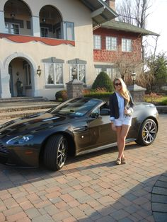 Me and the Aston Martin Vantage S-Series