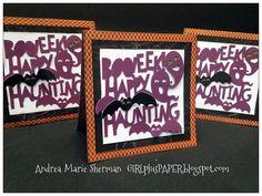 GIRLplusPAPER: CTMH Nevermore Happy Haunting Artistry Card