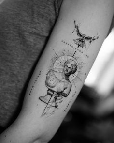 Cool Forearm Tattoos, Bicep Tattoo, Dope Tattoos, Back Tattoos, Future Tattoos, Body Art Tattoos, New Tattoos, Sleeve Tattoos, Tattoos For Guys