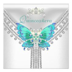 >>>Cheap Price Guarantee          Quinceañera Teal Blue White Butterfly Diamond 2 Personalized Invitations           Quinceañera Teal Blue White Butterfly Diamond 2 Personalized Invitations today price drop and special promotion. Get The best buyDeals          Quinceañera Tea...Cleck Hot Deals >>> http://www.zazzle.com/quinceanera_teal_blue_white_butterfly_diamond_2_invitation-161325723333243586?rf=238627982471231924&zbar=1&tc=terrest