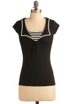 MOD CLOTH // Sail into Splendor Top $37.99