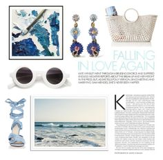 """""""Summer waves 🌊"""" by anduu19 ❤ liked on Polyvore featuring By Lassen, Mark & Graham, Alice Cicolini and Altuzarra"""