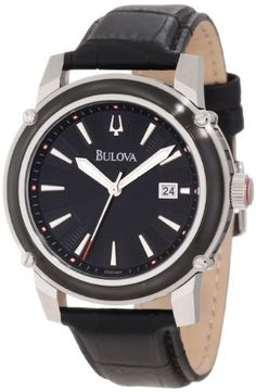 Bulova Men's 98B160 Strap Watch ** Find out more about the great product at the image link.