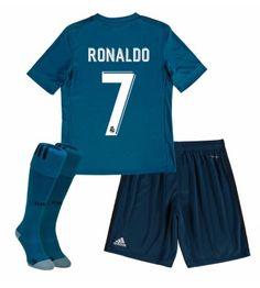 Real Madrid Third Mini Kit with Carvajal 2 printing: Real Madrid Third Mini Kit with Carvajal 2 printing Real Madrid Third… Real Madrid Cristiano Ronaldo, Kids Soccer, Gareth Bale, The Ordinary, Fifa, Sportswear, Swimwear, Shopping, Third