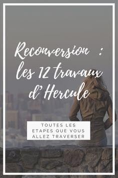 On parle #reconversion sur le blog et surtout les étapes que vous allez vivre si vous choisissez cette voie ! #blog