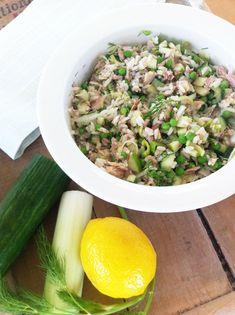 Finnish Style Healthy Tuna Salad Recipe   Skimbaco Lifestyle   online magazine