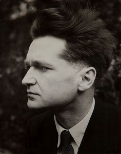 """Nothing proves that we are more than nothing."" -- Emil Cioran: Romanian philosopher & essayist, author of ""A Short History of Decay"", and ... Eraserhead lookalike!"