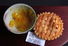 Betsy Niederer beautiful lattice peach pie