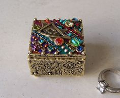 Gift Box Crystals and Gems by Michal Golan