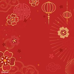 Chinese new year 2019 greeting background | free image by rawpixel.com / Kappy Kappy