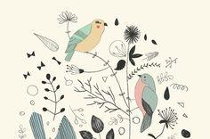 pretty little birds