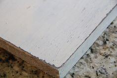 Paint method using candle wax (vaseline works too)