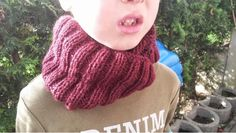 Stricken Strickanleitungen Strickmuster - auch für Anfänger: Schlauchschal für Kinder und Erwachsene