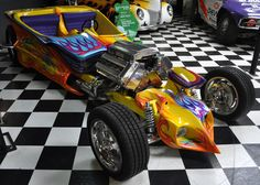 Ed Roth Cars | Just a Car Guy: Ed Big Daddy Roth tribute trike and tribute car are ...