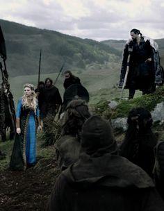 Lagertha & Kalf on Vikings Season 4