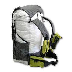 Cuben Fiber Pack Full Back Detail Backpacking Hammock c71486245d077