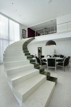Interior aspect of Residencia NJ near São Paolo, Brasil by Pupogaspar Arquitetura