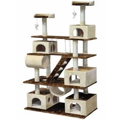 GocatClub Huge Cat Tree Condo -- New and awesome cat product awaits you, Read it now  : Cat Tree and Tower
