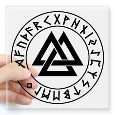 The valknut is a symbol of sacrifice to Odin. Those who wear a valknut are usually dedicated to Odin. To some, the valknut symbolizes the triple nature of Odin.
