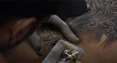 "Trabajo realizado por Kevin Pedraza -Tio Blacky- artista del tattoo  a Guillermo ""Pantera"" Suarez , boxeador Profesional  atleta de Sanctuary Body Art .Este video fue realizado por Guido Picone estudiante de comunicacion social en la Universidad Nacional de Cordoba UNC, agradecemos a toda la gente como Guido que trabaja por el tattoo para que este arte se difunda cada dia."