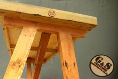 Reclaimed Wood Tables - GAS Creations. Wood Tables, Stool, Furniture, Home Decor, Wooden Tables, Homemade Home Decor, Stools, Home Furnishings, Chair