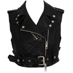 Burberry Prorsum Leather Biker Vest and other apparel, accessories and trends. Browse and shop 16 related looks.
