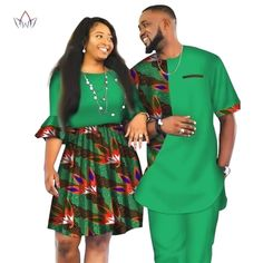 Image of African Men and Women Ankara print couple dress, african clothes for boyfriend,girlfriend wedding Dress and men suit o-neck men two piece set dashiki short sleeve cloth plus Couples African Outfits, African Dresses Men, African Blouses, African Attire For Men, African Clothing For Men, African Shirts, Latest African Fashion Dresses, African Print Fashion, African Wear