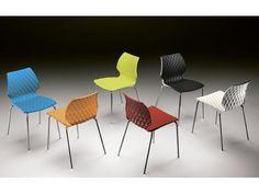 Plastová jídelní židle Metalmobil UNI 550 | designoshop.cz