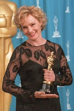 Jessica Lange short curly hairstyle