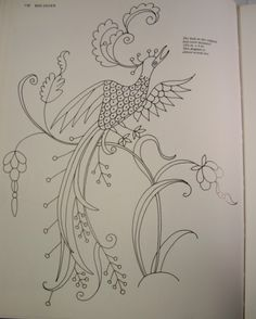 jacobean hand embroidery designs | FREE CREWEL PATTERNS | Free Patterns
