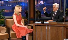 emma stone tonight show.  I love this dress...give it a scoop neckline and I would wear it every day!!!