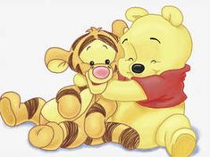 Winnie the Pooh and Tigger by akiraken - Cute - Disney Winnie The Pooh Tattoos, Winnie The Pooh Drawing, Winnie The Pooh Pictures, Tigger Winnie The Pooh, Winnie The Pooh Quotes, Deviantart Disney, Cute Disney Wallpaper, Cute Cartoon Wallpapers, Pooh Bebe