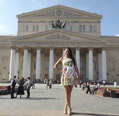 """Bolshoi Theatre (Большой театр) in Russian and means """"The Great Theater"""", and houses one of the oldest and most prestigious dance companies on the planet!"""