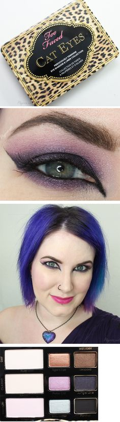 Too Faced Cat Eyes Palette Tutorial. Pin now, watch later!
