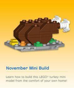 LEGO Monthly Mini Model Build: November 2010 – Smashing Bricks @Michael Bielenberg
