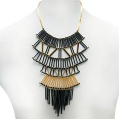 nOir Jewelry - Necklaces - Deco Drop Fan