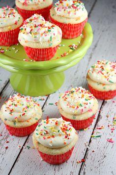 Confetti Cupcakes #recipe