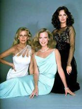 Charlie's Angles  -  Cheryl Ladd (Kris Munroe  -  1977-1981)...Shelly Hack (Tiffany Welles  -  4th season - 1979-80)...Jacklyn Smith (Kelly Garrett  -  1976-1981)