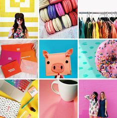 75 COLOURFUL INSTAGRAM ACCOUNTS THAT YOU NEED TO FOLLOW RIGHT NOW! | Bespoke-Bride: Wedding Blog Instagram Creator, Instagram Grid, Instagram Design, Instagram Tips, Instagram Accounts, Photography Templates, Brand Board, Poses, Graphic Design Inspiration